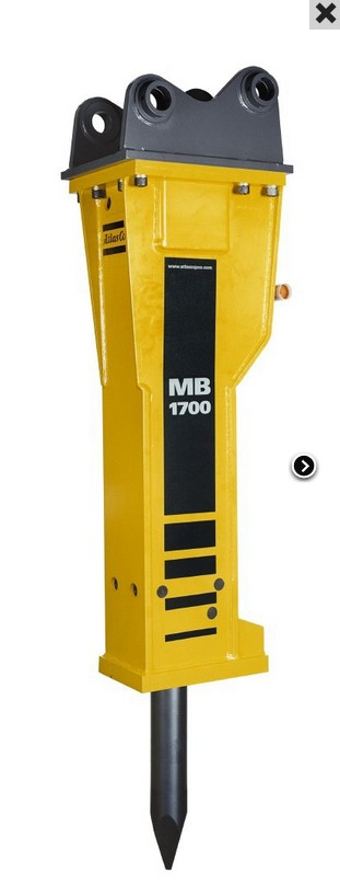 MB Hydraulic Breakers for carriers from 19 up to 32 t weight