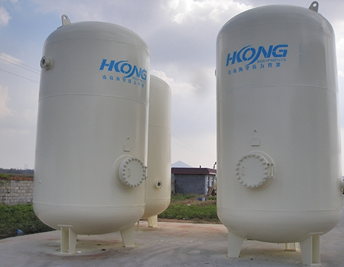 ASME pressure vessel oxygen nitrogen argon tank for gas compressor