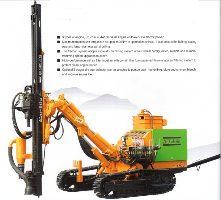 ZGYX-430 Surface Down The Hole Drill Rig