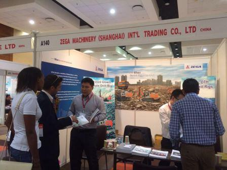 ZEGA participated in the International Construction Material Expo in Tanzania