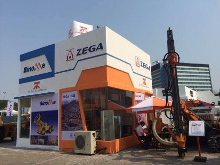 ZEGA D535 and D440 in the Indonesia Mining Expo