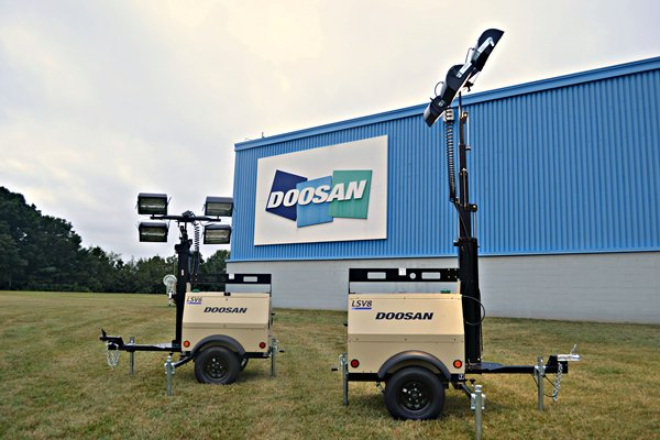 Doosan introduces LSV6 & LSV8 light towers