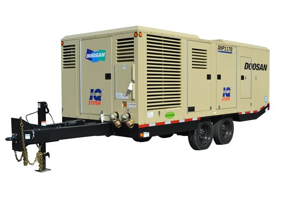Doosan introduces industry's first Tirer4 final high pressure air compressor
