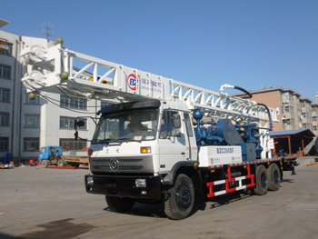 Truck mounted water well drilling rig BZC350DF